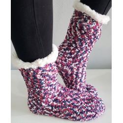 Fluffy Slipper Sock