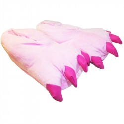 Dinosaur Feet -Pink