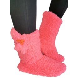 Soft Fleece Plush Slipper...
