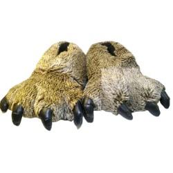 Monster feet-hairy Brown