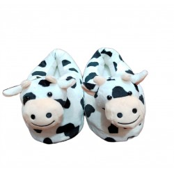 Cow Slippers-Uk 4-uk8 (one...