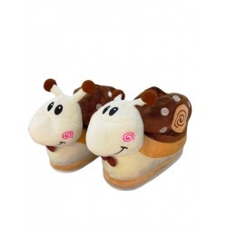 SNAIL SLIPPERS -Brown