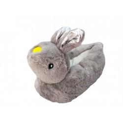 Rabbit Slippers- Grey