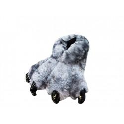 Grey -Monster Feet