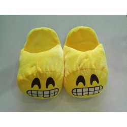 Emoji Slippers - Excited