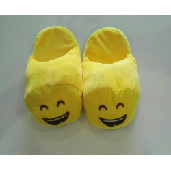 Emoji Slippers - Smiley