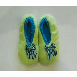 Cozy Soft Slippers - Green