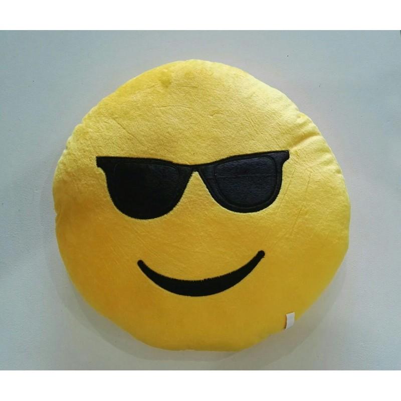 Emoji Plush Pillow - Cool
