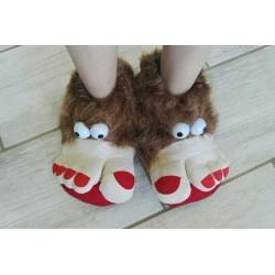 Trolls Feet - Brown