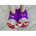 Trolls Feet - Light Purple