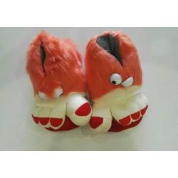 Trolls Feet - Orange