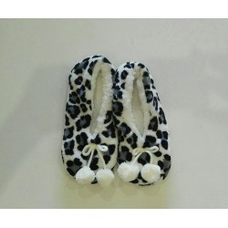 Cozy Soft Slippers - Leopard Print 2