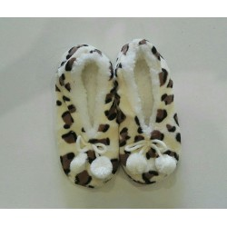 Cozy Soft Slippers - Leopard Print 4