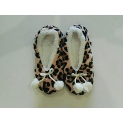 Cozy Soft Slippers - Leopard Print 3