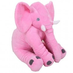 Elephant Pillow - Pink