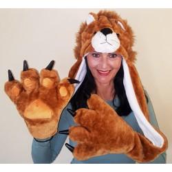 Lion Hoodie -Big Paws