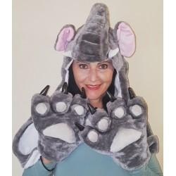 Elephant Hoodie-Big Claws